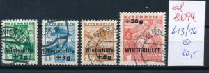 Österreich Nr.  613-6    sauber   o  (ed8094    ) siehe scan