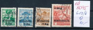 Österreich Nr.  613-6    sauber   o  (ed8095    ) siehe scan