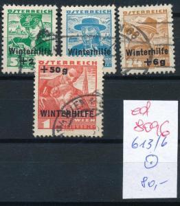 Österreich Nr.  613-6    sauber   o  (ed8096    ) siehe scan