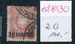 D.-Post Türkei  Nr. 2 o    (ed8130     ) siehe scan