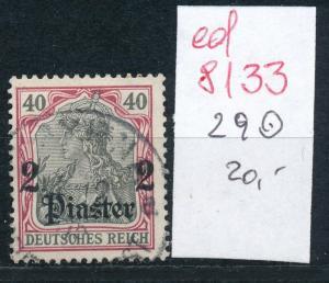 D.-Post Türkei  Nr. 29  o    (ed8133     ) siehe scan
