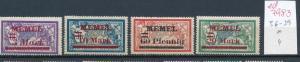 Memel  Nr. 36-39 sauber *   (ed7983     ) siehe scan