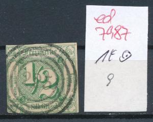 Thurn &Taxis   Nr. 14  o   (ed7987     ) siehe scan