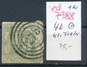 Thurn &Taxis   Nr. 46  o   (ed7988     ) siehe scan