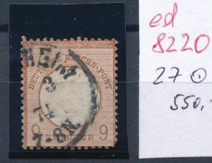 D.-Reich Nr. 27   o  .... (ed8220 )  siehe scan