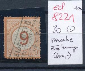 D.-Reich Nr. 30   o  .... (ed8221 )  siehe scan