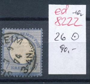 D.-Reich Nr. 26  o  .... (ed8222 )  siehe scan