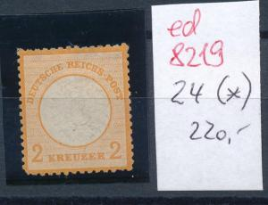 D.-Reich Nr. 24 (*)  .... (ed8219 )  siehe scan