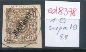 Marianen Nr. 1  Seepost-o  ( ed8398  ) siehe scan