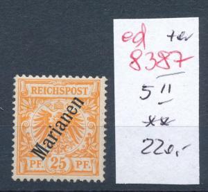 Marianen Nr. 5 II **  ( ed8387  ) siehe scan