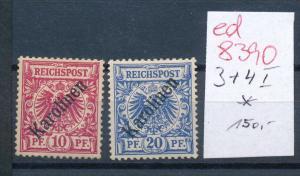 Marianen Nr. 3+4 I  *  ( ed8390  ) siehe scan