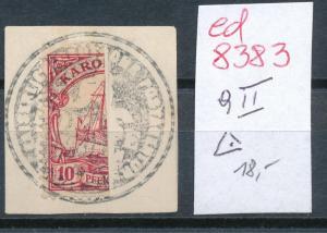 Karolinen Nr. 9 II ( ed8383  ) siehe scan