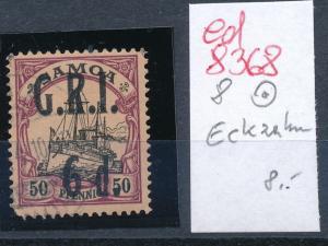 Samoa  Nr.8  o Eckzahn ( ed8368  ) siehe scan
