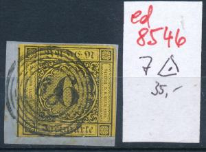 Baden Nr. 7 o  ( ed8546  ) siehe scan