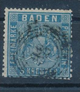 Baden  Nr.10 a  o (s703 ) 88-Markdorf + 25,-DM