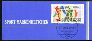 BERLIN Markenheft Sport   (dc2252)siehe Bild