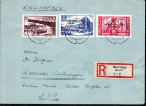 Saar R-Brief   Homburg (dc3712)