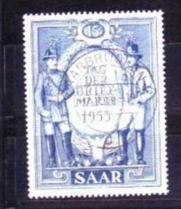 Saar  Nr. 342  o  ( v3187 )