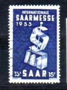 Saar  Nr. 341  o  ( v3190)