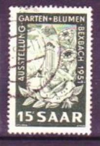 Saar  Nr. 307  o  ( v4201)