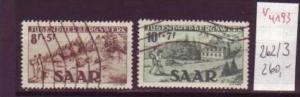 Saar  Nr. 262-3   ( v4193)