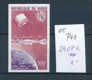 Niger  Nr. 290 Probe  U     **    (ee741    ) siehe scan