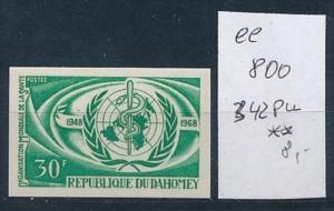 Dahome  Nr. 242  Probe-  U     **    (ee800    ) siehe scan