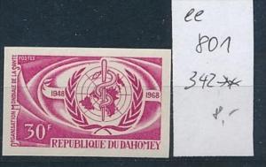 Dahome  Nr. 242  Probe-  U     **    (ee801    ) siehe scan