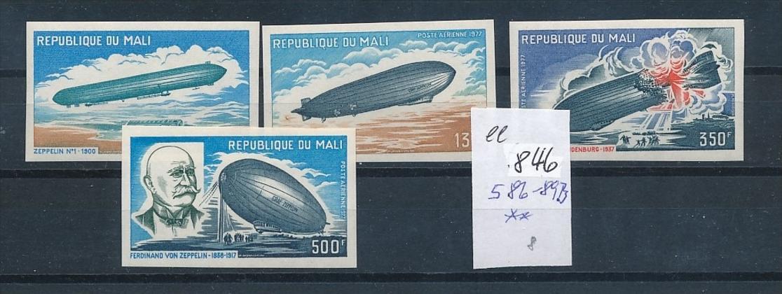 Mali  Nr. 586-89  B **    (ee846    ) siehe scan 0