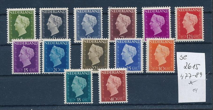 Niederlande Nr. 477-89  sauber *    (se2615    ) siehe scan 0