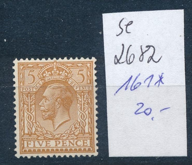 UK- Nr. 161   *   (se2682    ) siehe scan 0