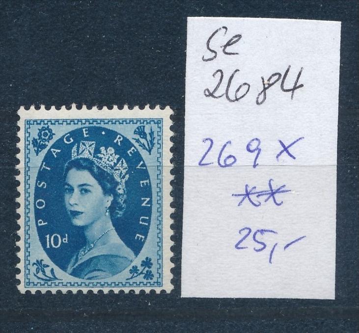 UK- Nr. 269  x  **   (se2684    ) siehe scan 0