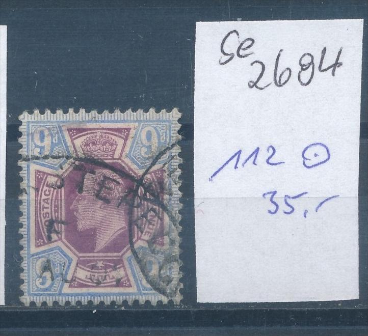 UK- Nr. 112  o   (se2694    ) siehe scan 0