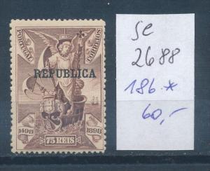 Portugal  Nr.  186  *  (se2688    ) siehe scan