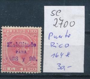 Puerto Rico  Nr.164  * (se2700    ) siehe scan