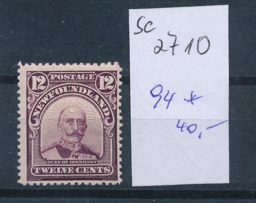 Neufundland  Nr. 94     *     (se2710   ) siehe scan 0