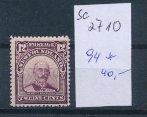 Neufundland  Nr. 94     *     (se2710   ) siehe scan
