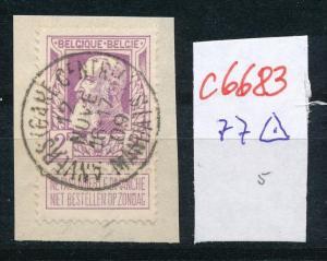 Belgien nettes Briefstück  ( c 6683 ) -siehe Bild