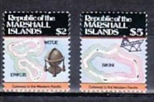 Marshall Inseln Nr.  77-78  **  (d9013 ) siehe scan