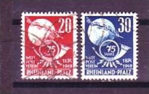 Rheinland -Pf.Nr.  51-2   o  ( o8790 )siehe scan