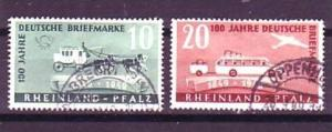 Rheinland -Pf.Nr. 49-50   o  ( o8791 )siehe scan