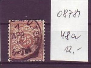 Würtemberg  Nr. 48 a    o        ( o8781   )siehe scan