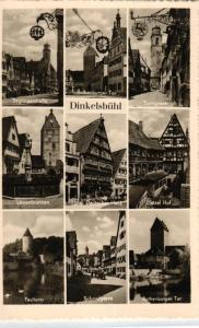 Dinkelsbühl  - nette alte Karte    (ke9273   ) siehe scan