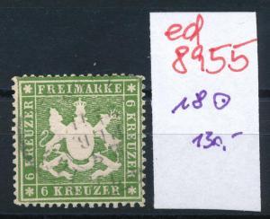 Würtemberg  Nr. 18   o    (ed8955  ) siehe scan