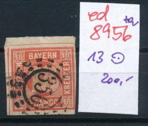 Bayern Nr. 13   o    (ed8956  ) siehe scan