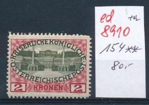 Österreich  Nr.  154  **     (ed8910  ) siehe scan