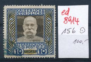 Österreich  Nr.  156    o  (ed8914  ) siehe scan