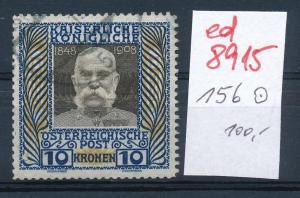 Österreich  Nr.  156    o  (ed8915  ) siehe scan
