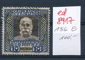 Österreich  Nr.  156    o  (ed8917  ) siehe scan