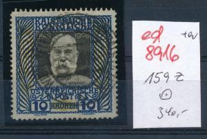 Österreich  Nr.  156  z   o  (ed8916  ) siehe scan